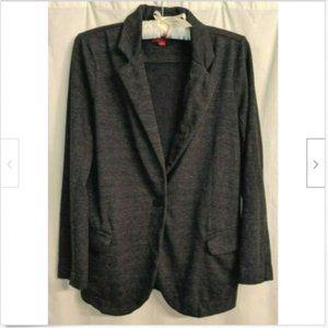 Merona Long Sleve Button Front Cardigan Blazer
